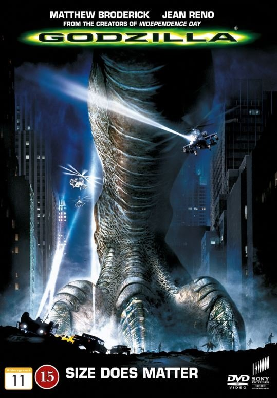 Image of   Godzilla - DVD - Film
