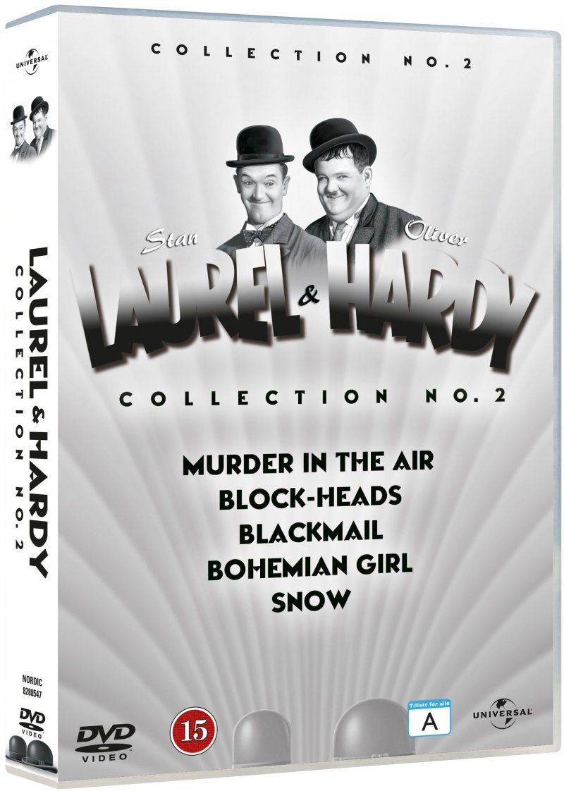 Image of   Gøg Og Gokke Film Collection - Vol. 2 - DVD - Film
