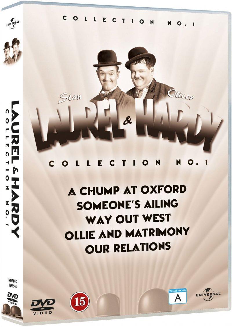 Image of   Gøg Og Gokke Film Collection - Vol. 1 - DVD - Film