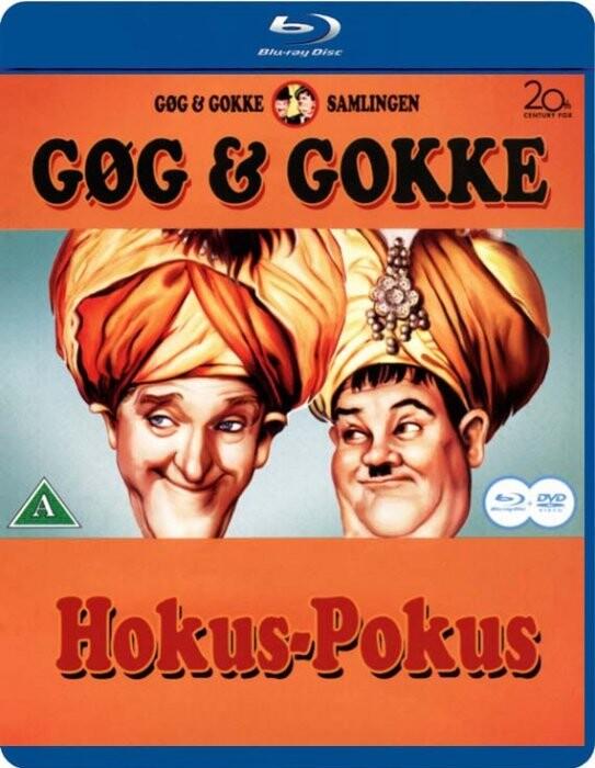 Gøg Og Gokke - Hokus Pokus - Blu-Ray