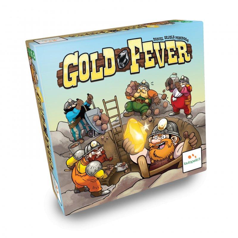 Gold Fever - Brætspil - Nordisk