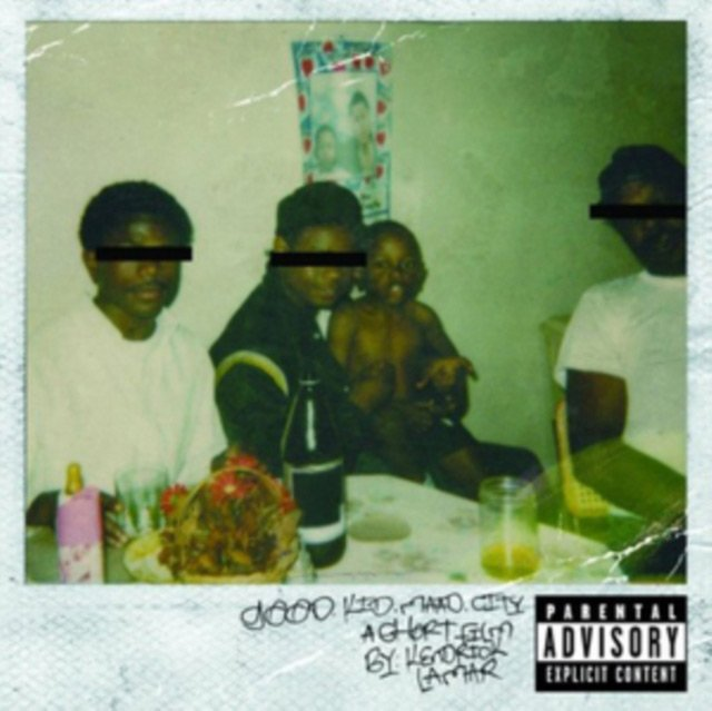 Kendrick Lamar - Good Kid M.a.d.d. City - CD