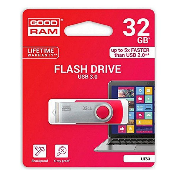 Image of   Goodram - Usb 3.1 Stik - 32gb - Uts3 - Sort