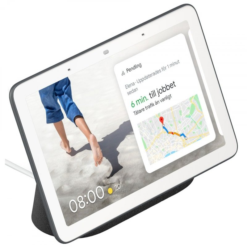 Image of   Google Nest Home Hub - Charcoal - Nordisk