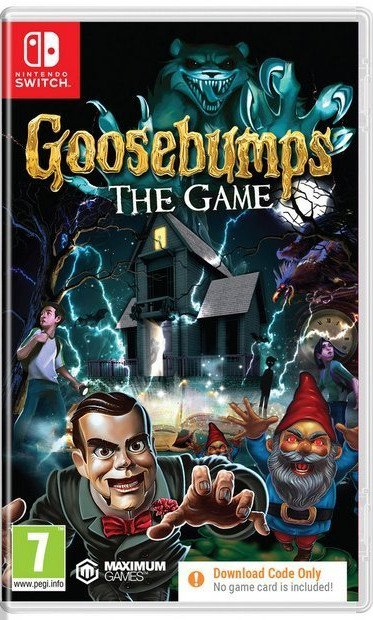 Image of   Goosebumps: The Game (download Code Only) - Nintendo Switch