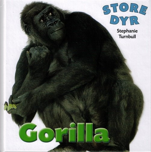 Image of   Store Dyr - Gorilla - Stephanie Turnbull - Bog