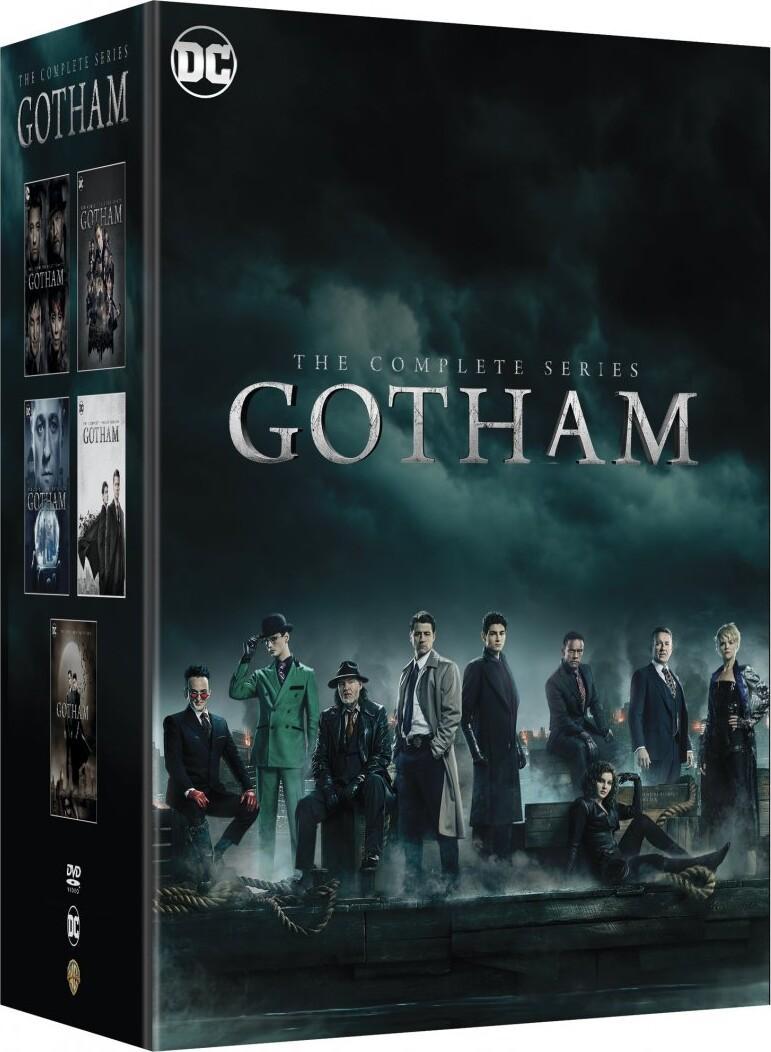 Image of   Gotham - Sæson 1-5 - Den Komplette Serie - DVD - Tv-serie