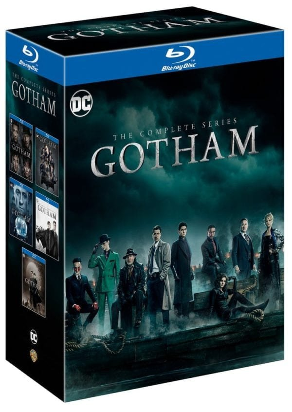 Image of   Gotham - Sæson 1-5 - Complete Box-set - Blu-Ray - Tv-serie