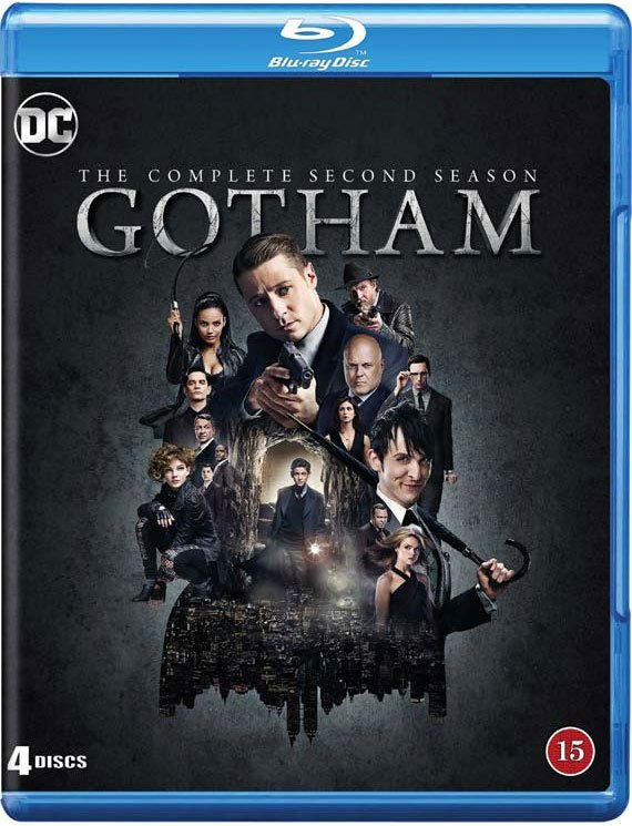 Image of   Gotham - Sæson 2 - Blu-Ray - Tv-serie