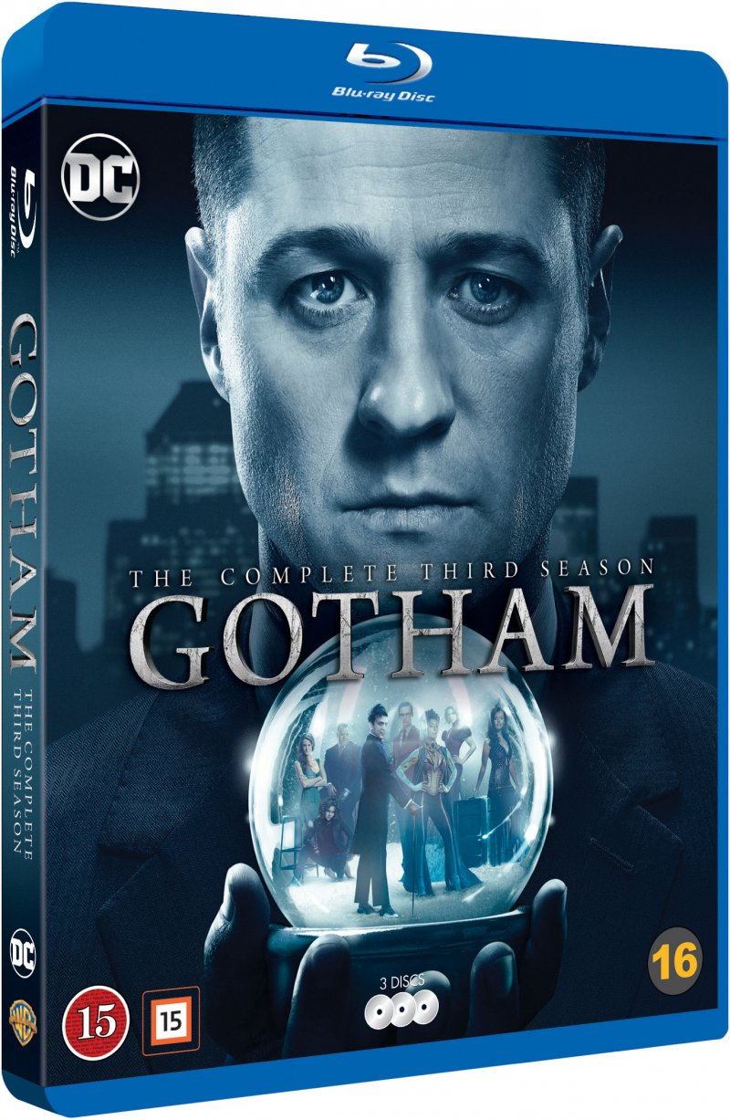 Image of   Gotham - Sæson 3 - Blu-Ray - Tv-serie