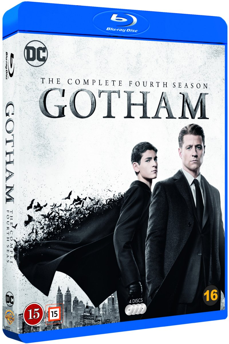 Image of   Gotham - Sæson 4 - Blu-Ray - Tv-serie