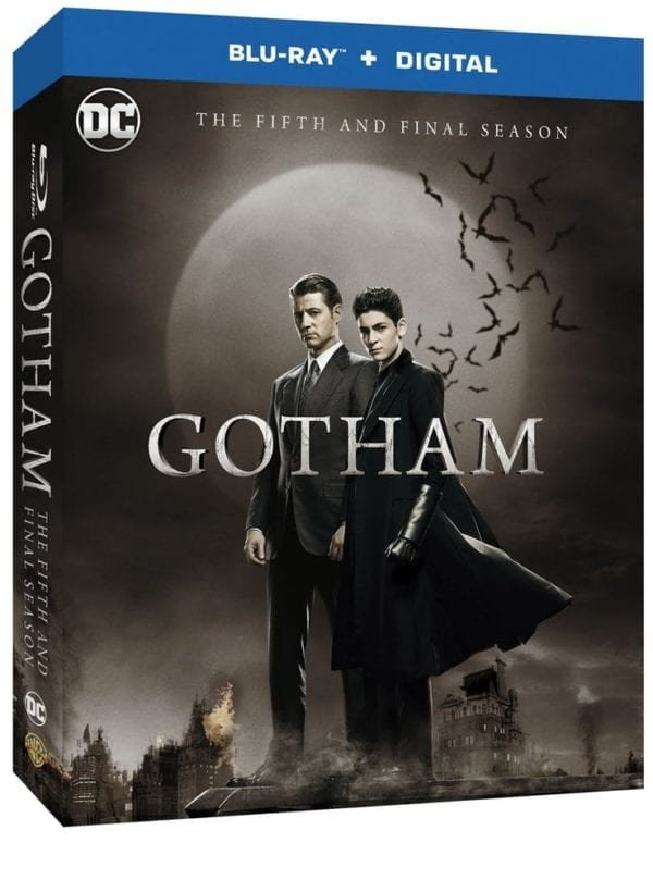Image of   Gotham - Sæson 5 - Blu-Ray - Tv-serie
