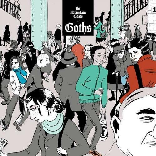 Image of   The Mountain Goats - Goths - CD