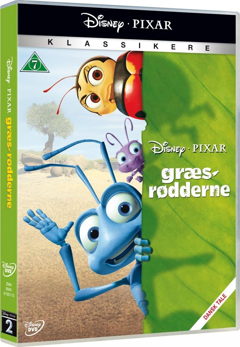 Billede af Græsrødderne - Disney Pixar - DVD - Film
