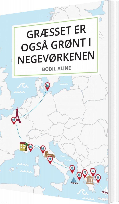 Image of   Græsset Er Også Grønt I Negevørkenen - Bodil Aline - Bog
