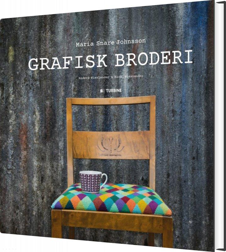 Image of   Grafisk Broderi - Maria Snare Johnsson - Bog