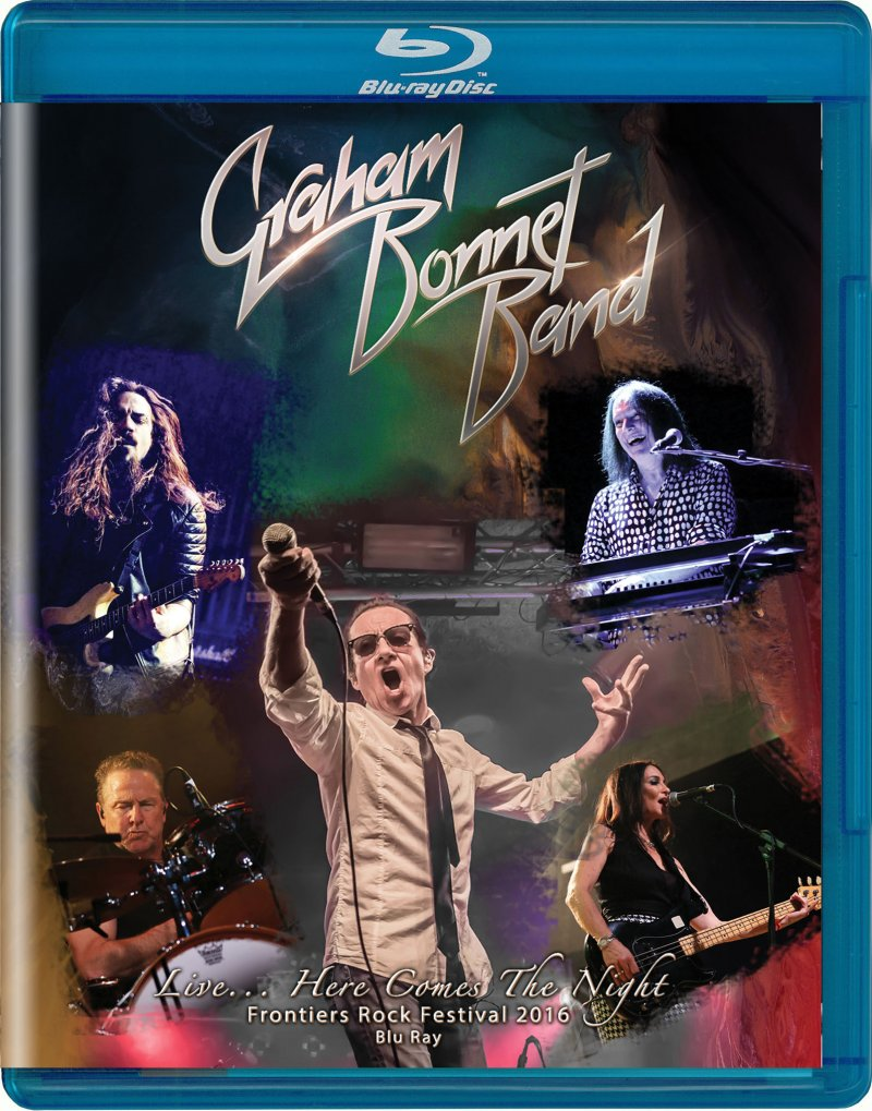Image of   Graham Bonnet Band Live...here Comes The Night - Blu-Ray