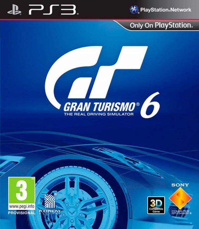 Gran Turismo 6 (nordic) - PS3
