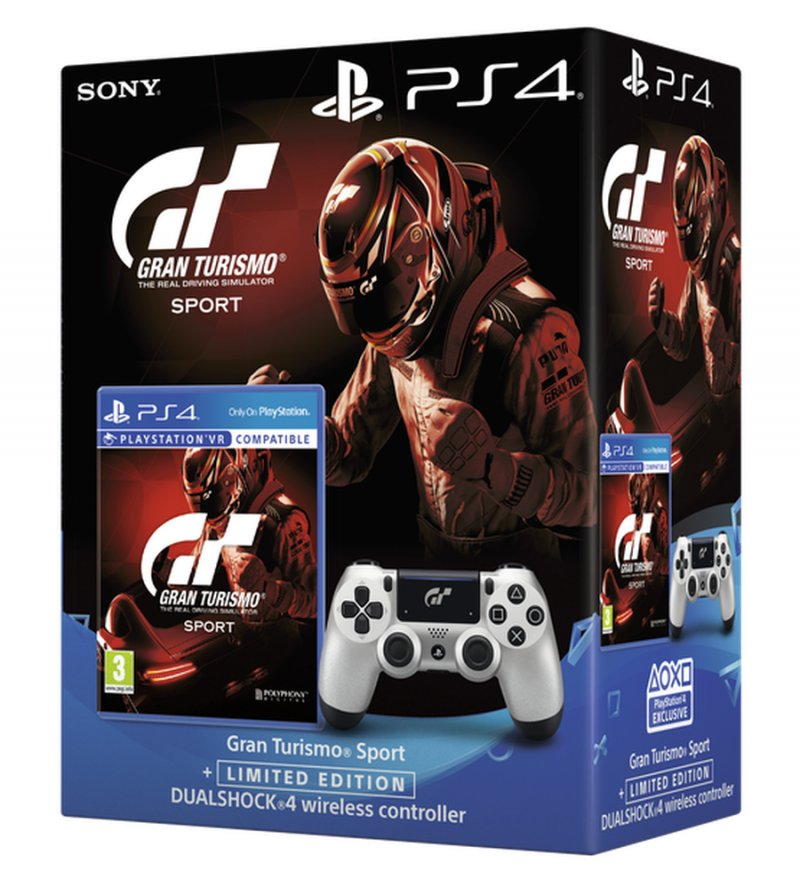 Gran Turismo: Sport & Sony Dualshock 4 Controller V2 - PS4