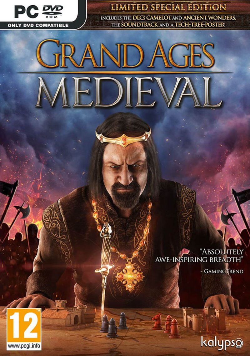 Image of   Grand Ages: Medieval - Limited Special Edition - PC