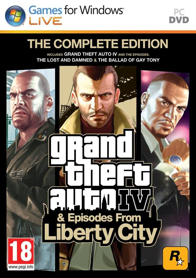 Image of   Grand Theft Auto Iv (gta 4) Complete Edition - PC