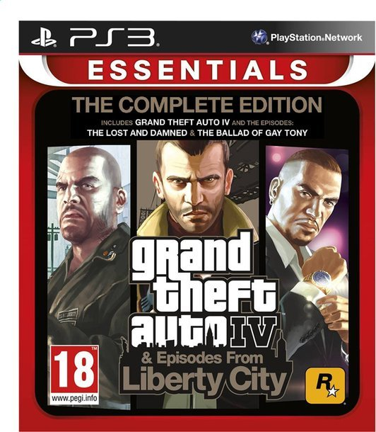 Image of   Grand Theft Auto Iv / Gta 4 - Complete Edition - PS3