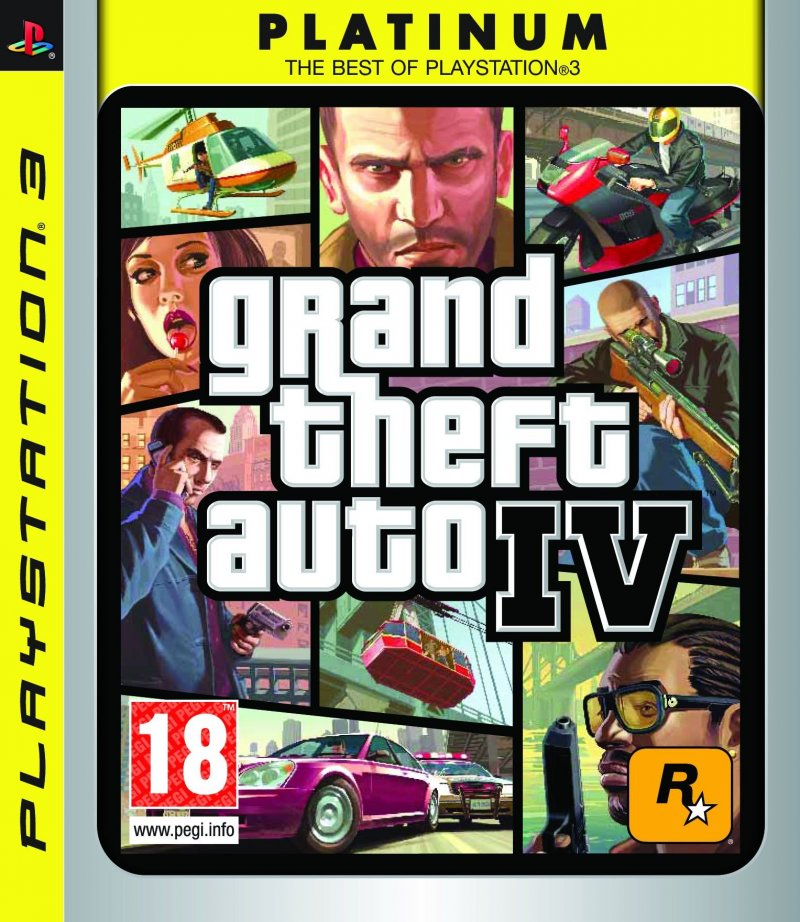 Image of   Grand Theft Auto Iv / Gta 4 - PS3