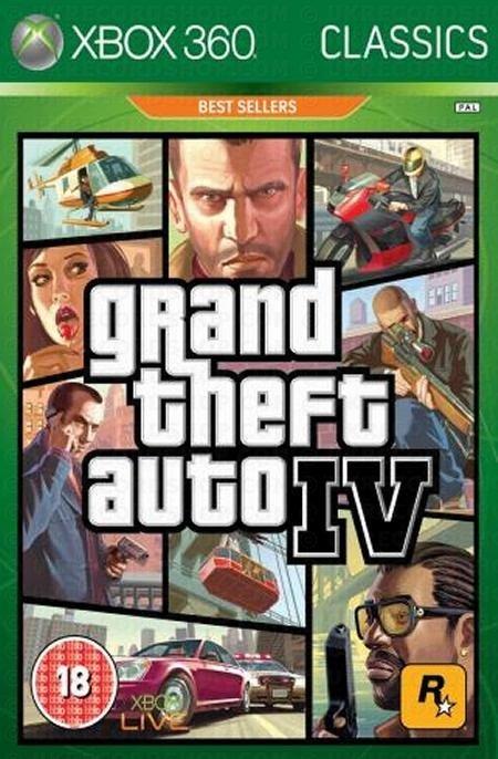 Image of   Grand Theft Auto Iv (gta 4) - Xbox 360