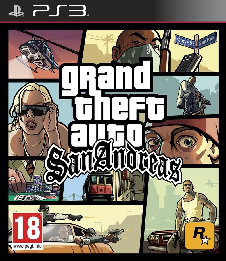 Image of   Grand Theft Auto: San Andreas - PS3