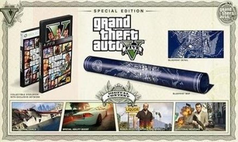 Grand Theft Auto V (gta 5) Special Edition - Xbox 360