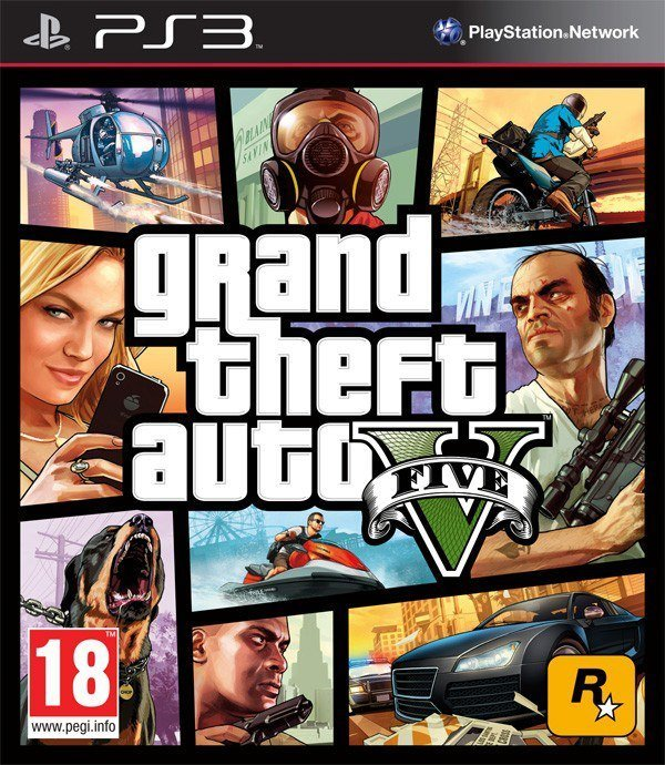 Image of   Gta 5 / Grand Theft Auto V - PS3