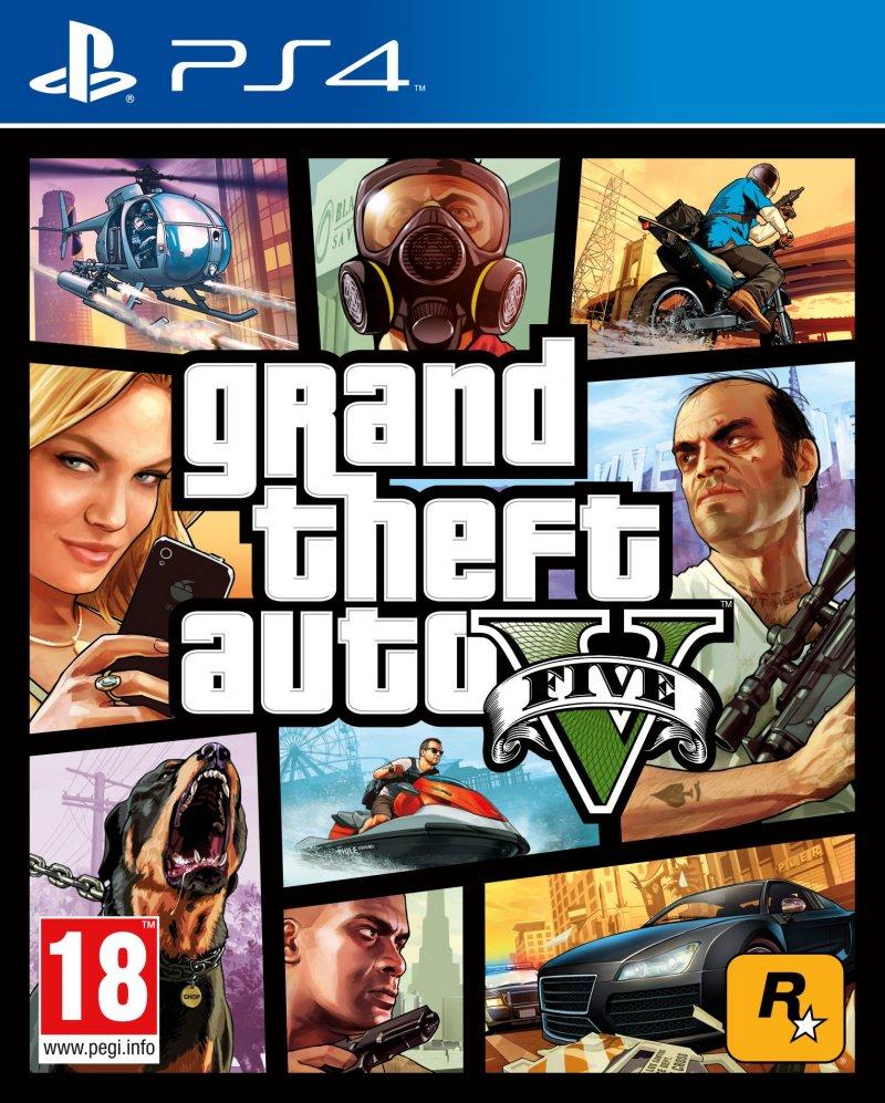 Image of   Gta 5 / Grand Theft Auto V - PS4