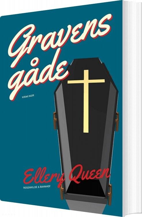 Gravens Gåde - Ellery Queen - Bog