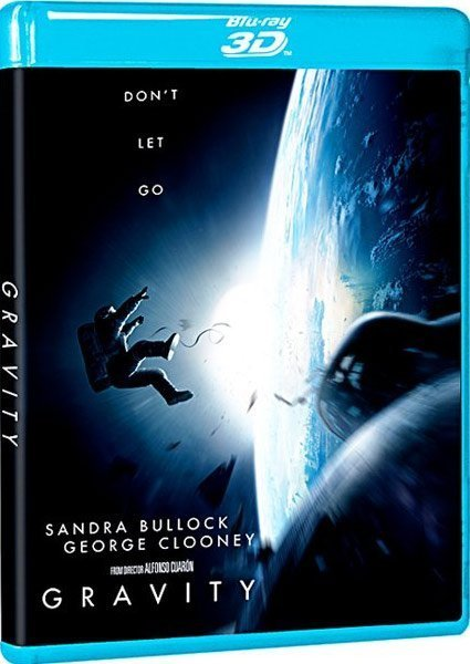 Image of   Gravity - 3D Blu-Ray