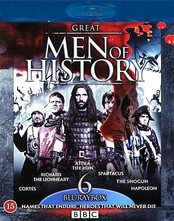 Image of   Great Men Of History - Bbc - Blu-Ray