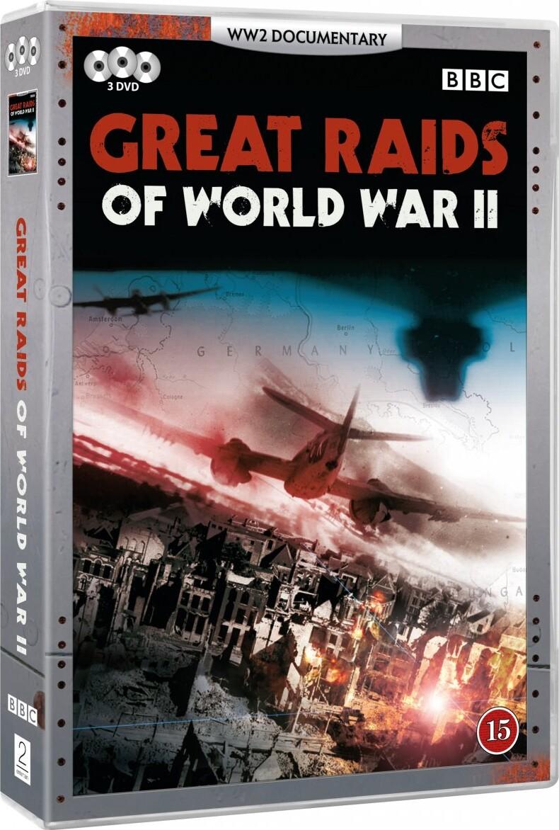 Image of   Great Raids Of World War Ii - Bbc - DVD - Film