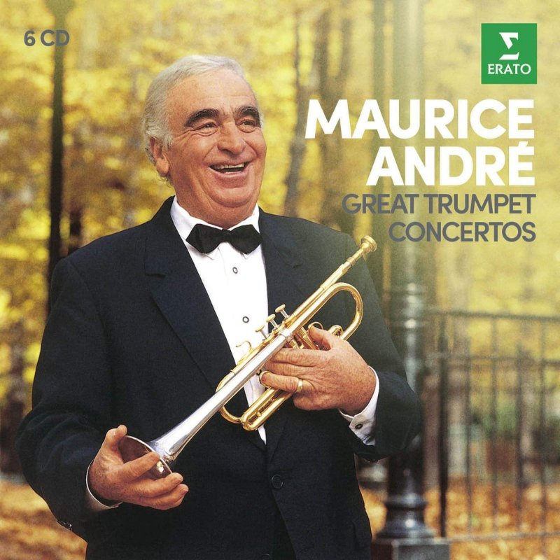 Image of   Maurice Andre - Great Trumpet Concertos - CD