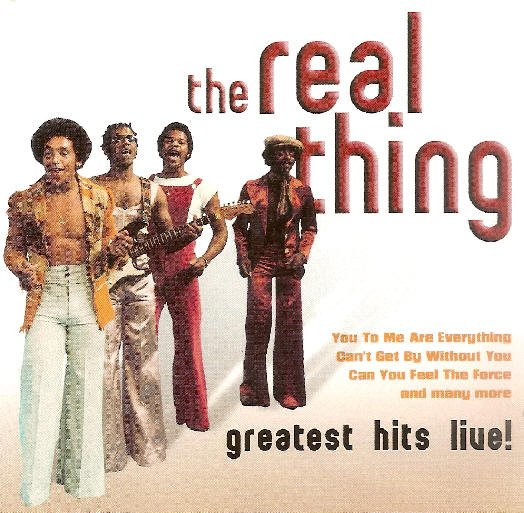 Image of   The Real Thing - Greatest Hits Live - CD