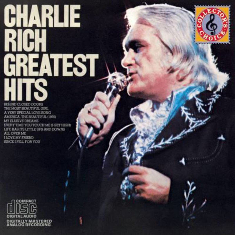 Image of   Charlie Rich - Greatest Hits - CD