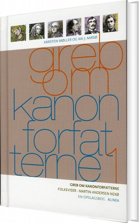 Billede af Greb Om Kanonforfatterne, Bd.1 - Karsten Møller - Bog