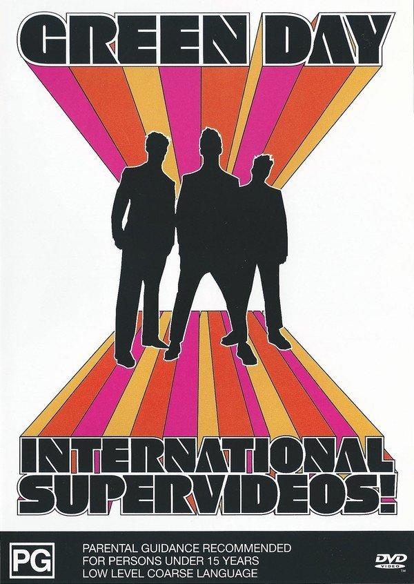Green Day - International Supervideos! - DVD - Film