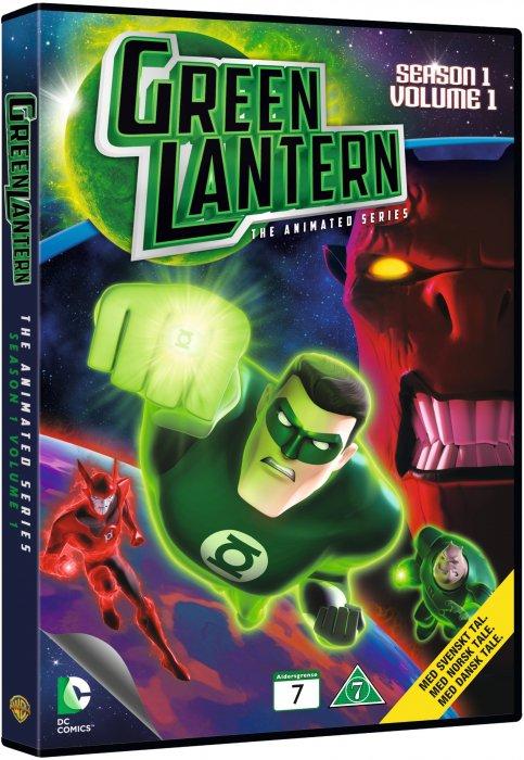 Billede af Green Lantern - Sæson 1 - Volume 1 - DVD - Film