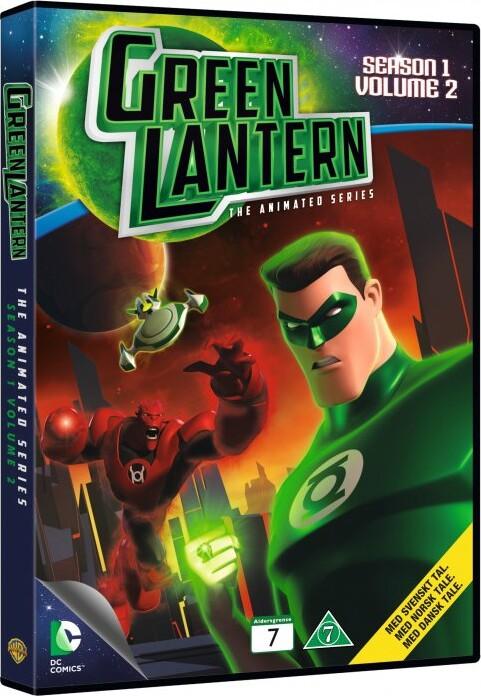 Billede af Green Lantern - Sæson 1 - Volume 2 - DVD - Film