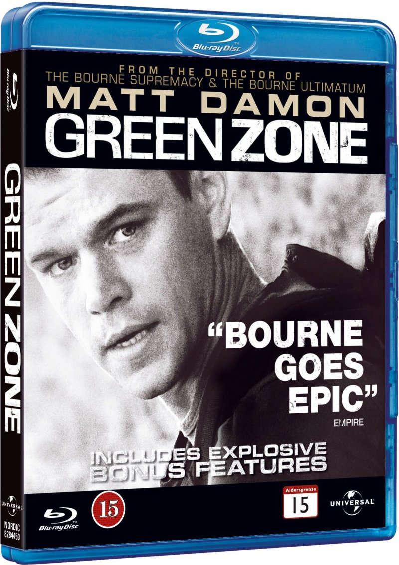 Image of   Green Zone - Blu-Ray