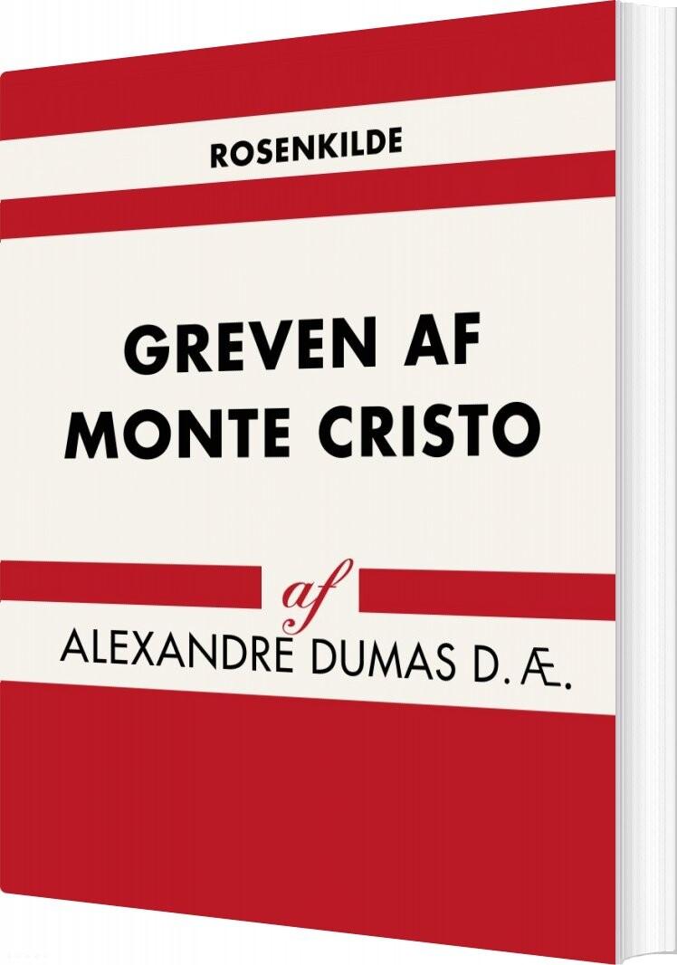 Billede af Greven Af Monte Cristo - Alexandre Dumas D. æ - Bog
