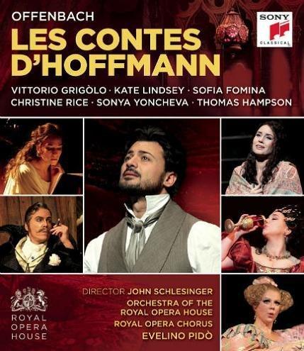 Image of   Grigolo Vittorio Offenbach: Les Contes D Hoffmann - Blu-Ray