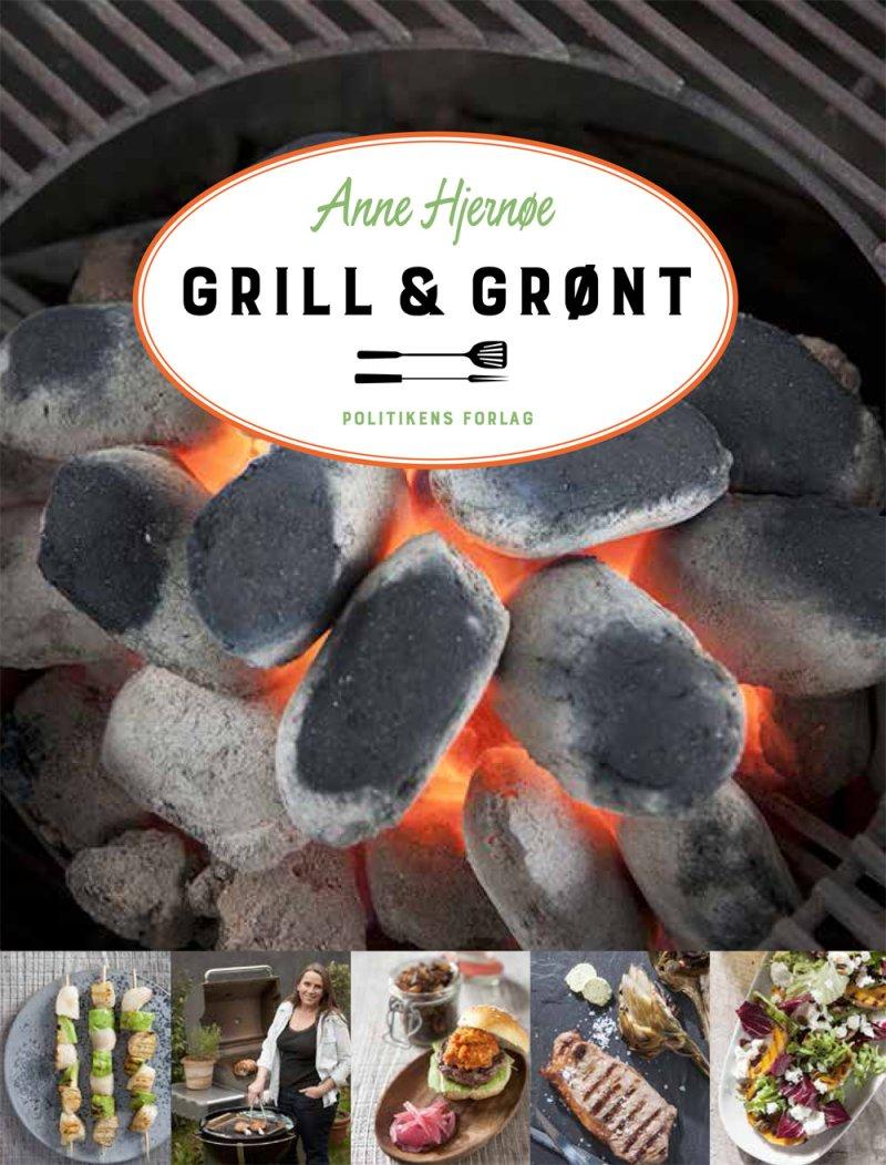 Grill & Grønt - Anne Hjernøe - Bog