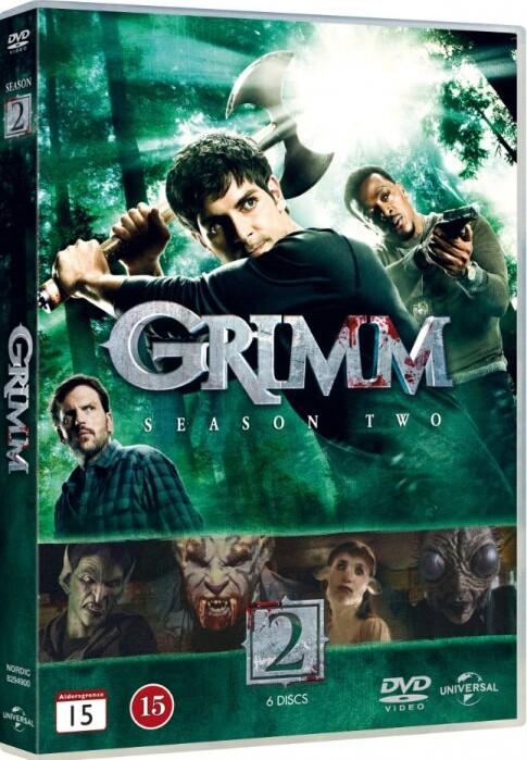 Billede af Grimm - Sæson 2 - DVD - Tv-serie