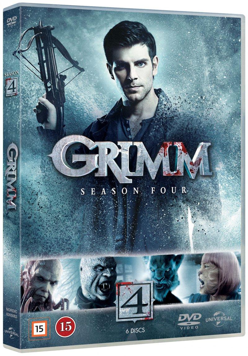 Billede af Grimm - Sæson 4 - DVD - Tv-serie