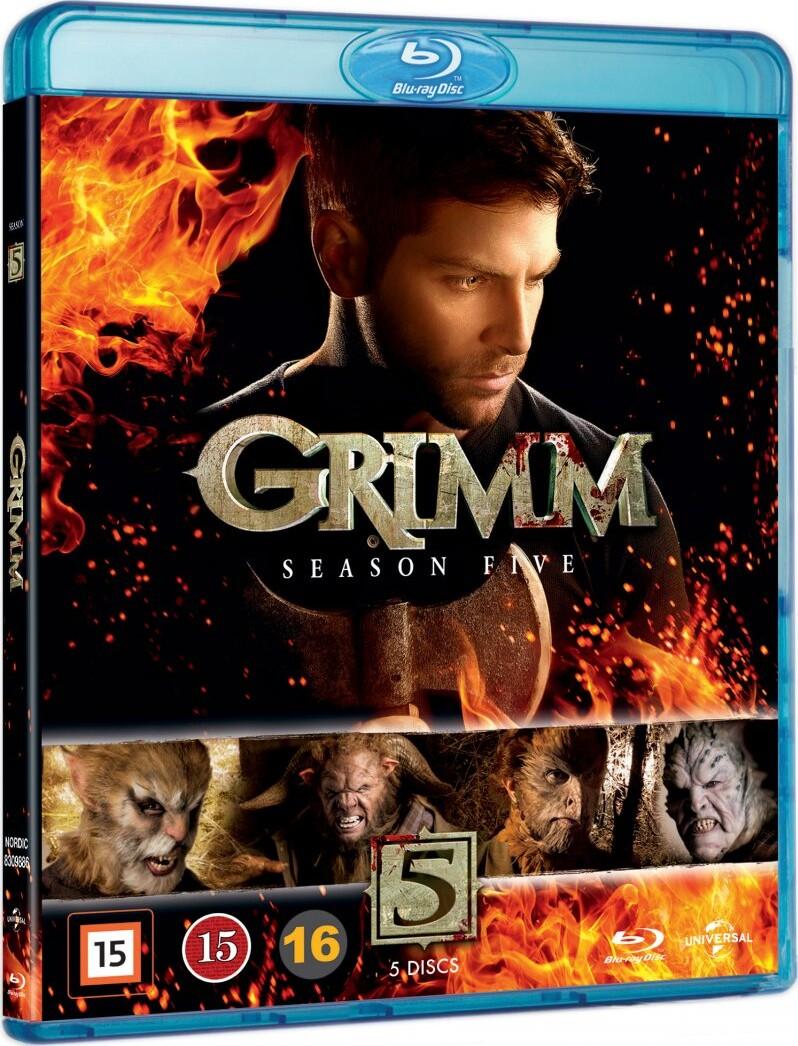 Grimm - Sæson 5 - Blu-Ray - Tv-serie